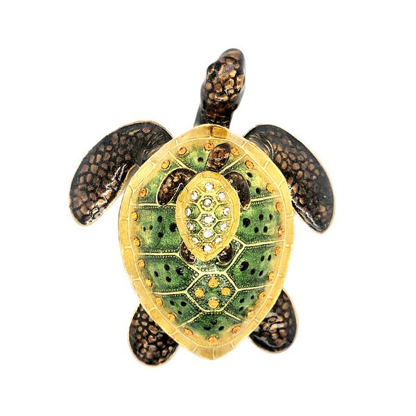 Mother Turtle With Baby Trinket Box Image 2 Vandenbergs Fine Jewellery Winnipeg, MB