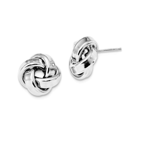love knot studs large