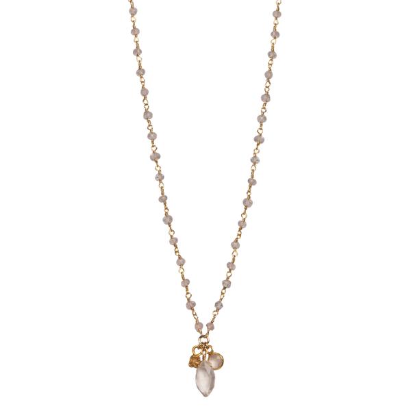 Rose Quartz Necklace Image 2 Vandenbergs Fine Jewellery Winnipeg, MB