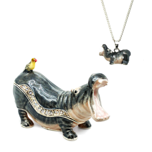 Hippie the African Hippopotamus Trinket Box Vandenbergs Fine Jewellery Winnipeg, MB