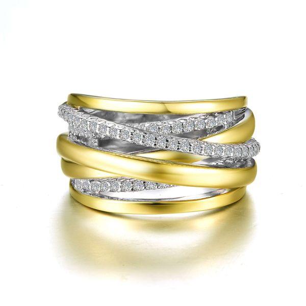 Ribbon Crossover Ring Vandenbergs Fine Jewellery Winnipeg, MB
