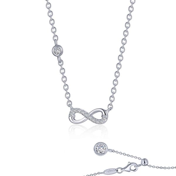 0.36 CTW Infinity Necklace Vandenbergs Fine Jewellery Winnipeg, MB