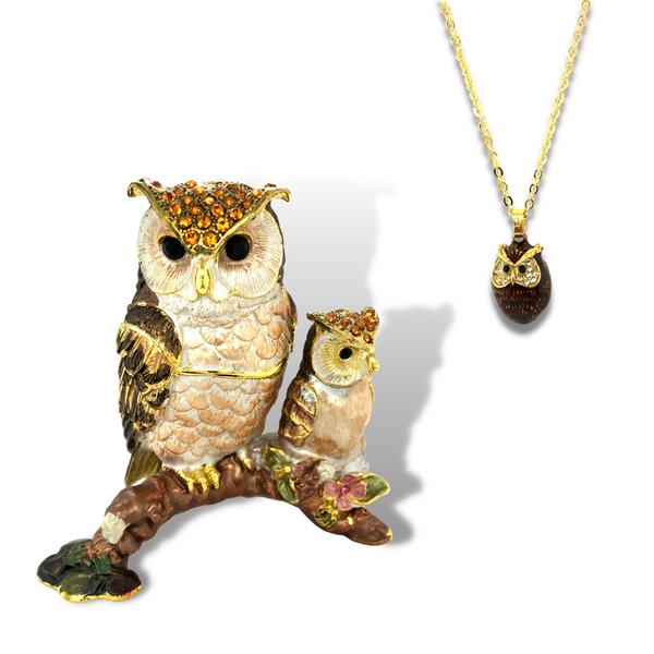 Twinkle & Star Owls Trinket Box Vandenbergs Fine Jewellery Winnipeg, MB