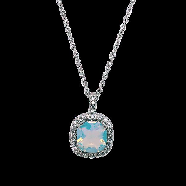 Iridescent Cubic Zirconia Necklace Vandenbergs Fine Jewellery Winnipeg, MB