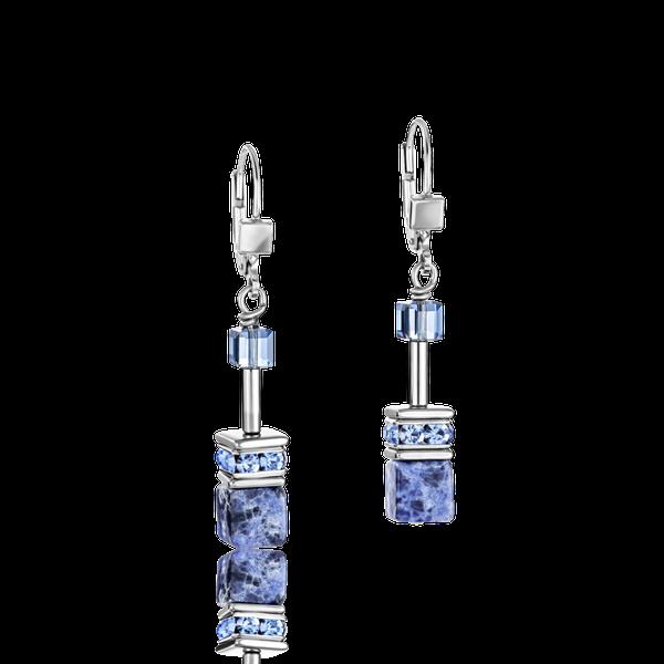 Sodalite & Haematite Blue Earrings Vandenbergs Fine Jewellery Winnipeg, MB