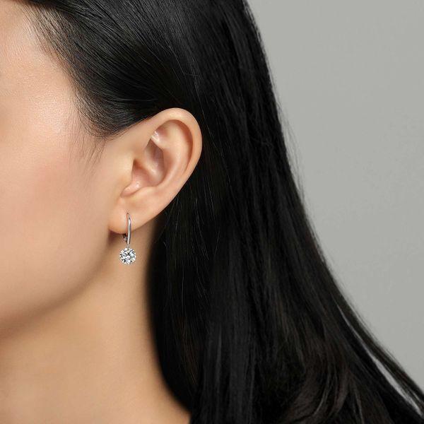 Leverback Frameless Earrings Image 2 Vandenbergs Fine Jewellery Winnipeg, MB