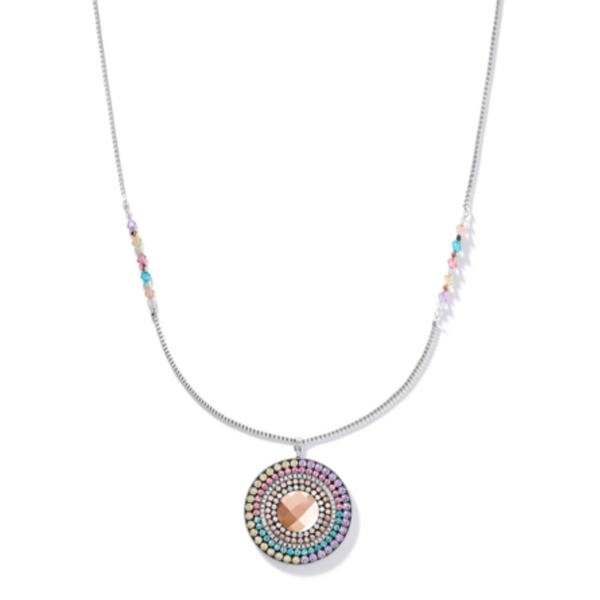 Pastel Swarovski Crystal Long Necklace Vandenbergs Fine Jewellery Winnipeg, MB
