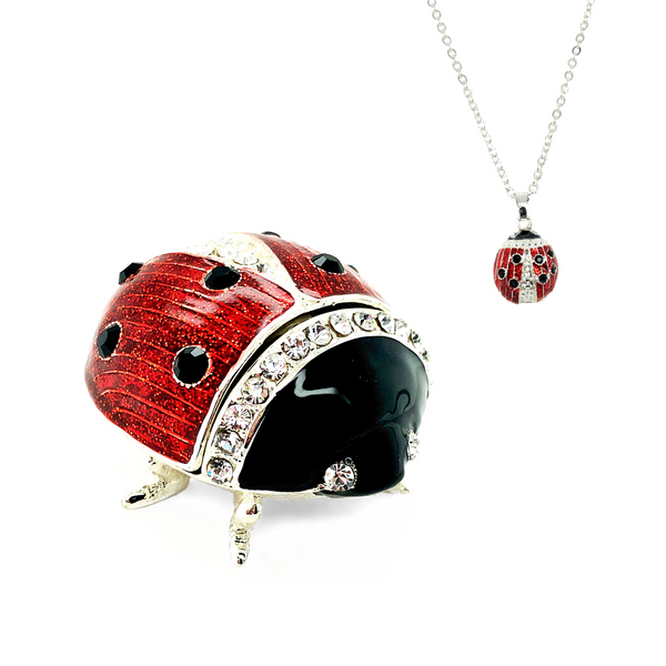 Lucky Ladybug Trinket Box Vandenbergs Fine Jewellery Winnipeg, MB