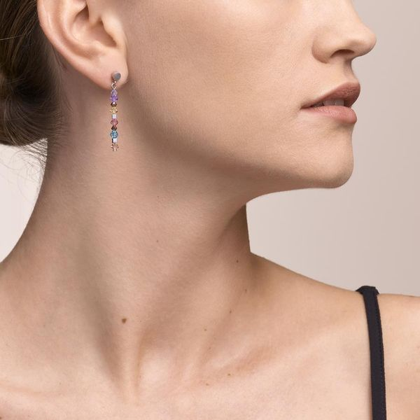 Pastel Swarovski Crystal Earrings Image 2 Vandenbergs Fine Jewellery Winnipeg, MB