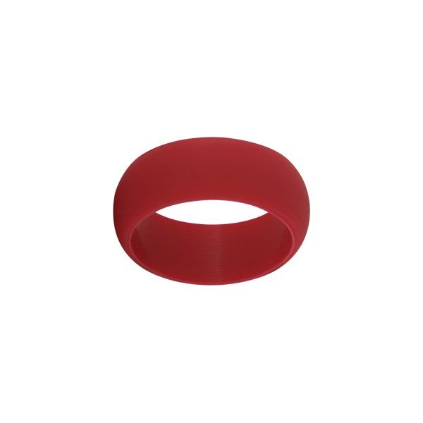 TruBand Wide Silicone Ring In Red Vandenbergs Fine Jewellery Winnipeg, MB