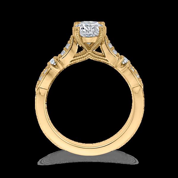 Vintage Style Semi-Mount Engagement Ring Image 3 Vandenbergs Fine Jewellery Winnipeg, MB