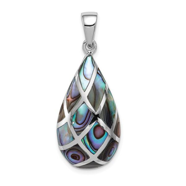 Teardrop Abalone Pendant Vandenbergs Fine Jewellery Winnipeg, MB