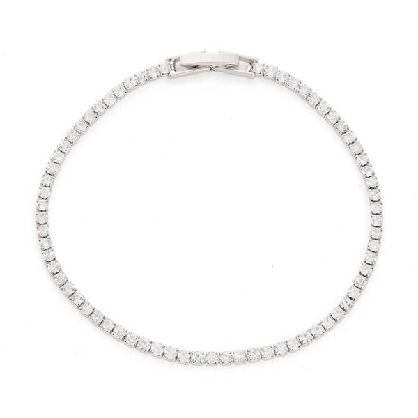 Austrian Crystal Tennis Bracelet Vandenbergs Fine Jewellery Winnipeg, MB