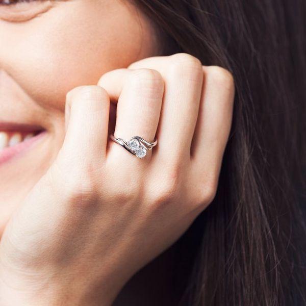 2 Stone Engagement Ring Mounting Image 2 Vandenbergs Fine Jewellery Winnipeg, MB