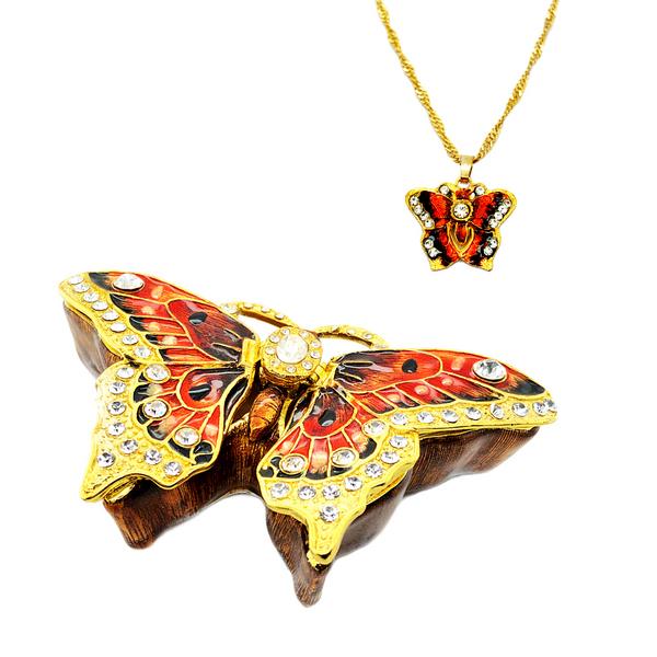 Butterfly Trinket Box Vandenbergs Fine Jewellery Winnipeg, MB