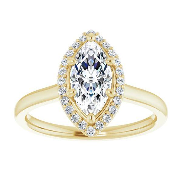 Marquise Engagement Ring Mounting Image 2 Vandenbergs Fine Jewellery Winnipeg, MB