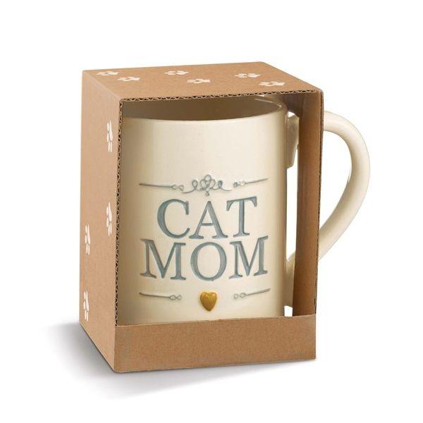 Ceramic Cat Mom Mug Vandenbergs Fine Jewellery Winnipeg, MB