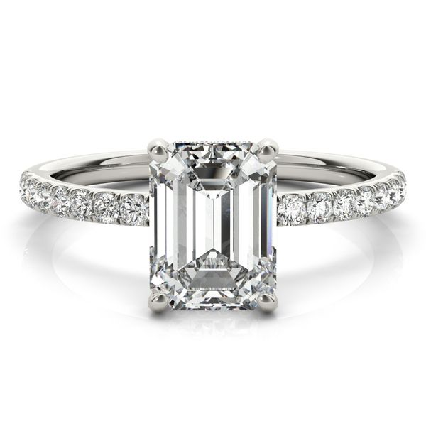 2 1/4 CTW Lab Grown Diamond Hidden Halo Engagement Ring Image 2 Venus Jewelers Somerset, NJ