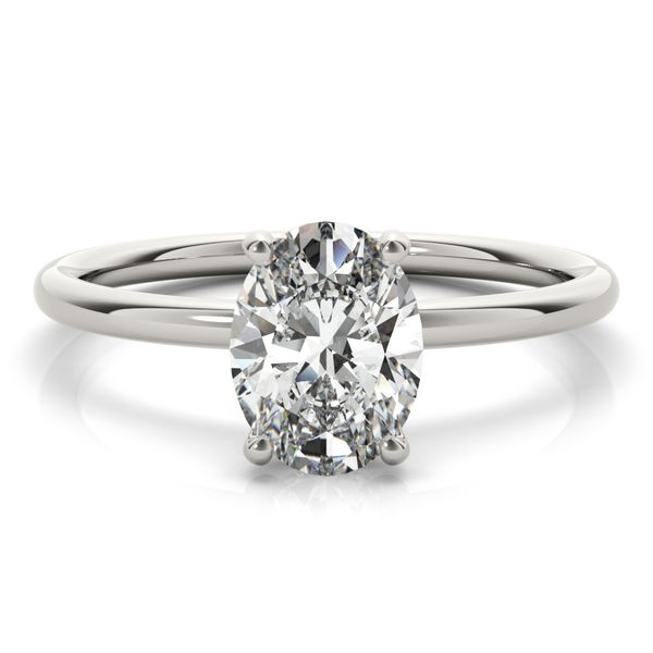 1.80 CTW Lab Grown Diamond Hidden Halo Solitaire Engagement Ring Venus Jewelers Somerset, NJ