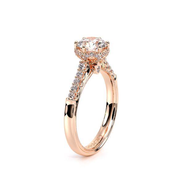 Renaissance Pave Engagement Ring Image 3 D. Geller & Son Jewelers Atlanta, GA
