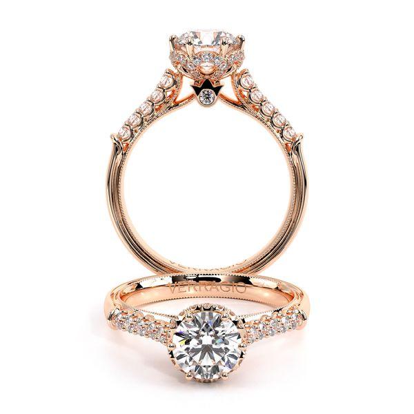 Renaissance Pave Engagement Ring D. Geller & Son Jewelers Atlanta, GA