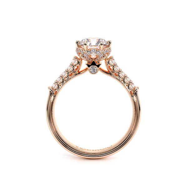 Renaissance Pave Engagement Ring Image 4 D. Geller & Son Jewelers Atlanta, GA