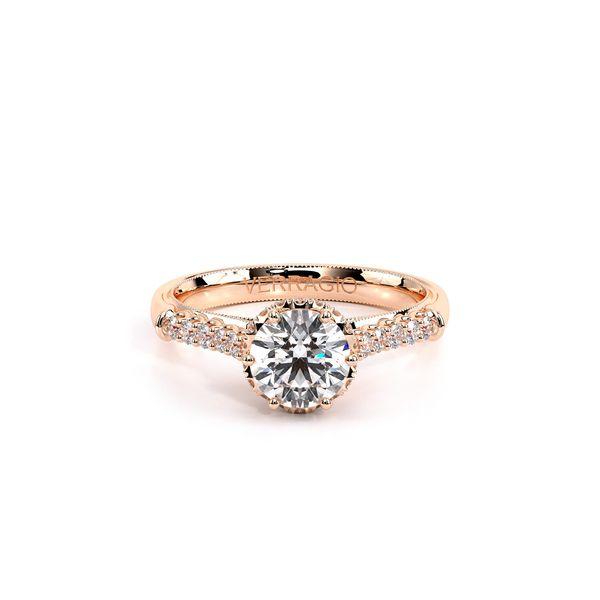 Renaissance Pave Engagement Ring Image 2 D. Geller & Son Jewelers Atlanta, GA