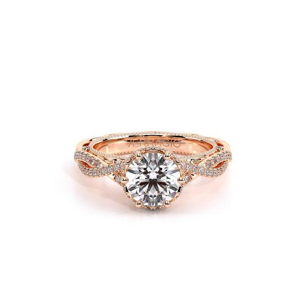 Venetian Solitaire Engagement Ring Image 2 D. Geller & Son Jewelers Atlanta, GA
