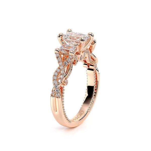 Insignia Three Stone Engagement Ring Image 3 D. Geller & Son Jewelers Atlanta, GA