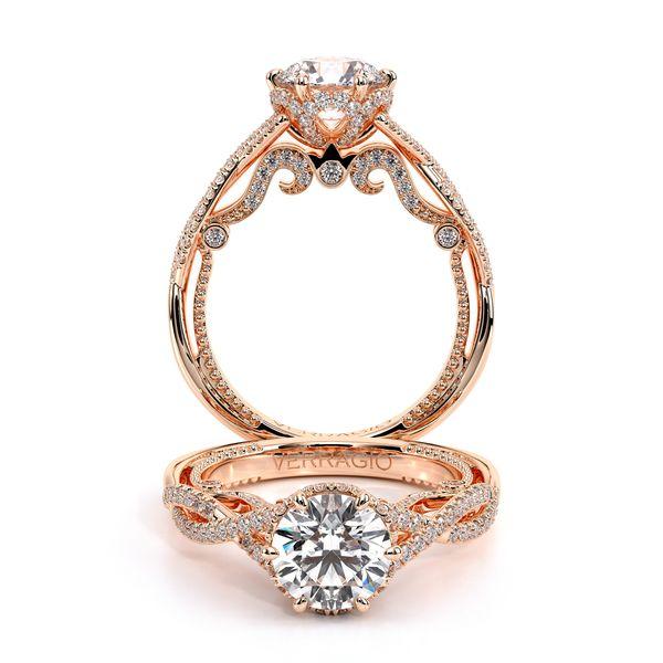 Insignia Pave Engagement Ring D. Geller & Son Jewelers Atlanta, GA
