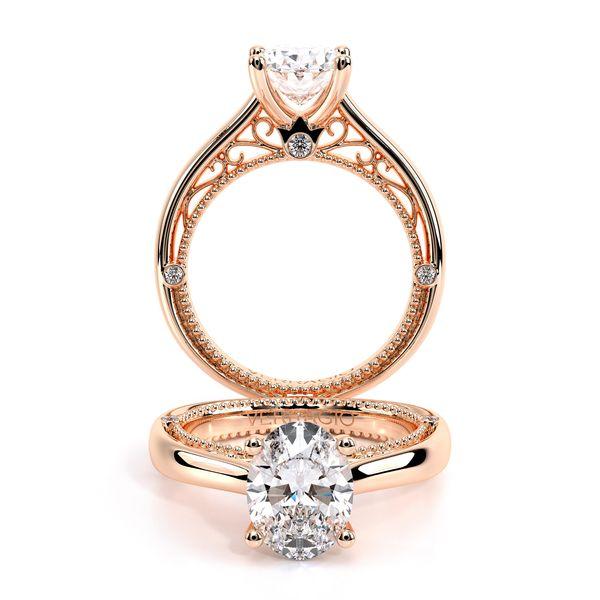 Venetian Solitaire Engagement Ring D. Geller & Son Jewelers Atlanta, GA