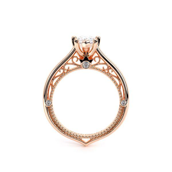 Venetian Solitaire Engagement Ring Image 4 D. Geller & Son Jewelers Atlanta, GA