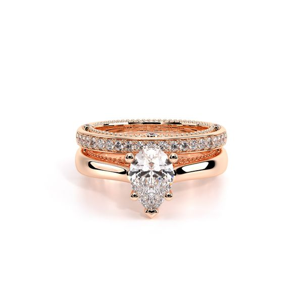 Venetian Solitaire Engagement Ring Image 5 D. Geller & Son Jewelers Atlanta, GA