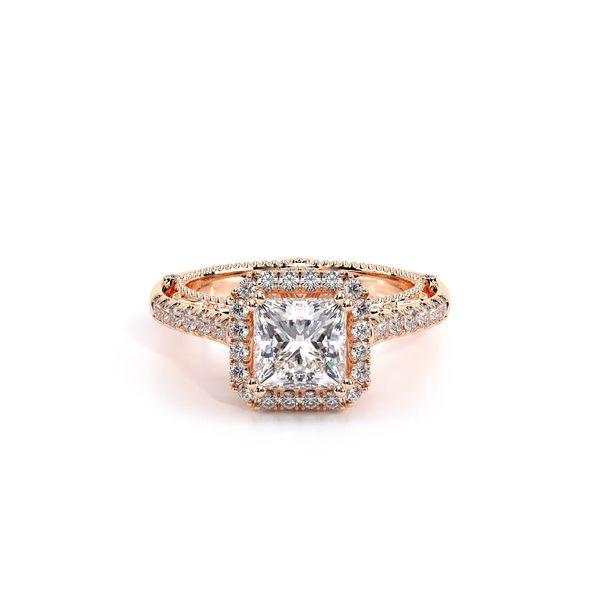 Venetian Halo Engagement Ring Image 2 D. Geller & Son Jewelers Atlanta, GA