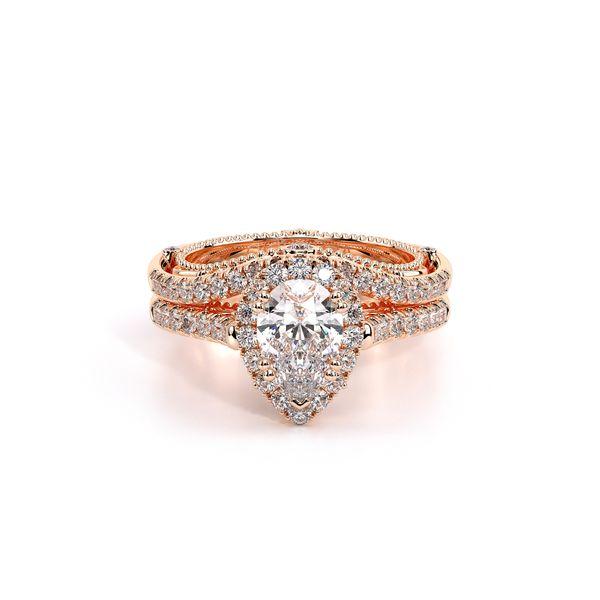 Venetian Halo Engagement Ring Image 5 D. Geller & Son Jewelers Atlanta, GA