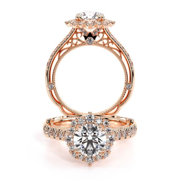 Venetian Halo Engagement Ring D. Geller & Son Jewelers Atlanta, GA