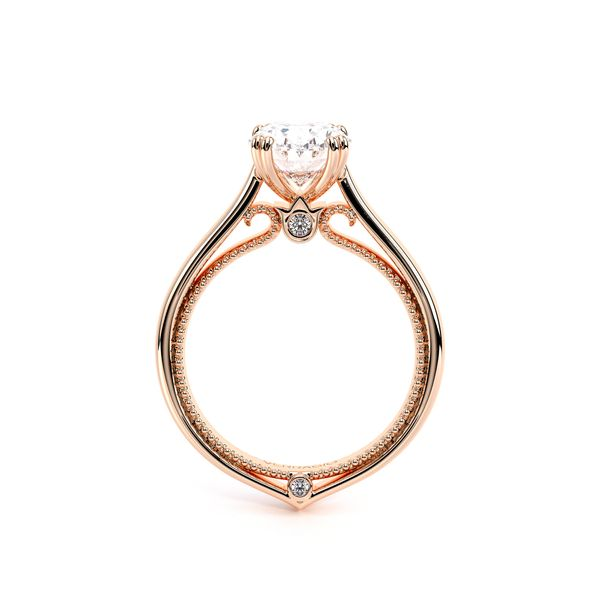 Couture Solitaire Engagement Ring Image 4 D. Geller & Son Jewelers Atlanta, GA