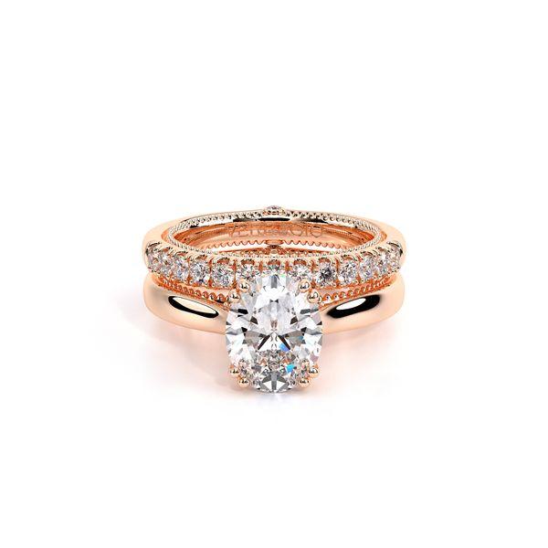 Couture Solitaire Engagement Ring Image 5 D. Geller & Son Jewelers Atlanta, GA
