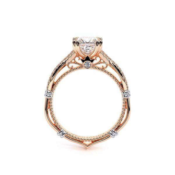 Parisian Pave Engagement Ring Image 4 SVS Fine Jewelry Oceanside, NY