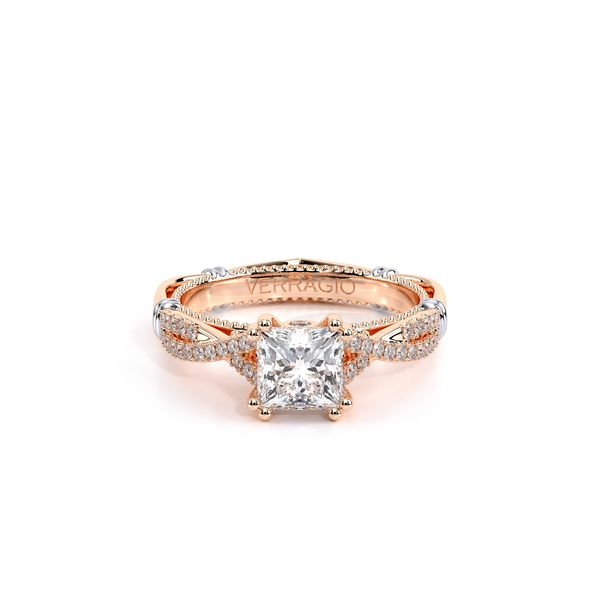 Parisian Pave Engagement Ring Image 2 SVS Fine Jewelry Oceanside, NY