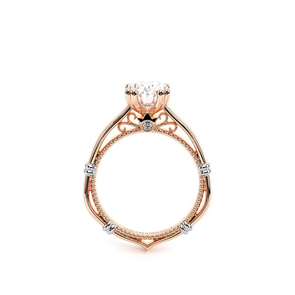 Parisian Solitaire Engagement Ring Image 4 SVS Fine Jewelry Oceanside, NY
