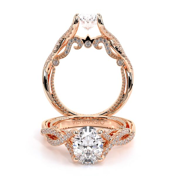Insignia Pave Engagement Ring SVS Fine Jewelry Oceanside, NY