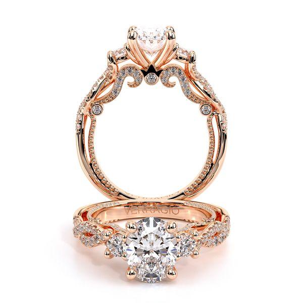 Insignia Three Stone Engagement Ring D. Geller & Son Jewelers Atlanta, GA