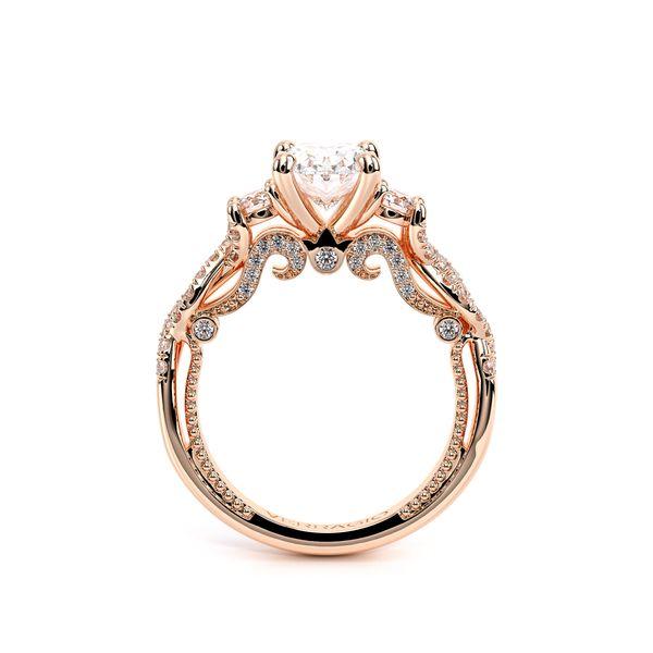 Insignia Three Stone Engagement Ring Image 4 D. Geller & Son Jewelers Atlanta, GA