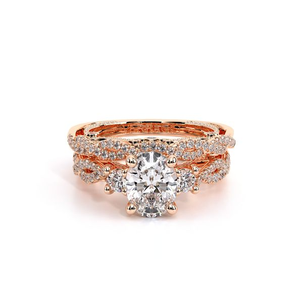 Insignia Three Stone Engagement Ring Image 5 D. Geller & Son Jewelers Atlanta, GA
