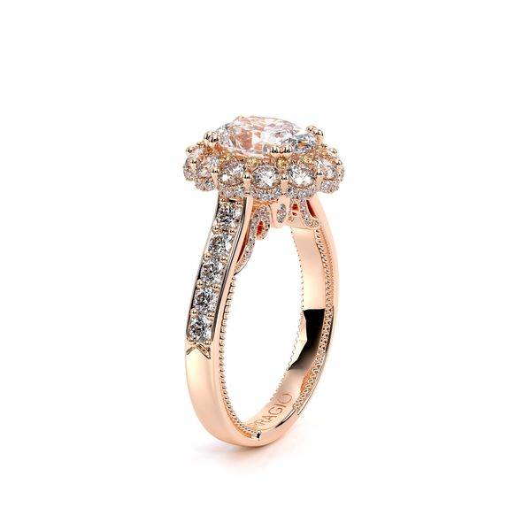 Insignia Halo Engagement Ring Image 3 D. Geller & Son Jewelers Atlanta, GA