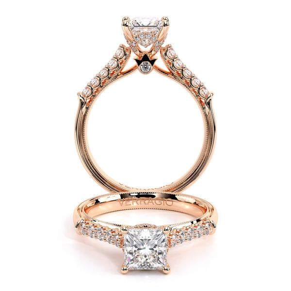 Renaissance Pave Engagement Ring SVS Fine Jewelry Oceanside, NY