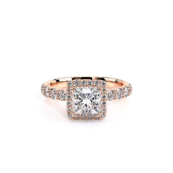 Renaissance Halo Engagement Ring Image 2 SVS Fine Jewelry Oceanside, NY
