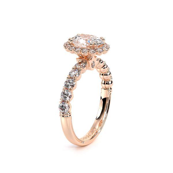 Renaissance Halo Engagement Ring Image 3 D. Geller & Son Jewelers Atlanta, GA