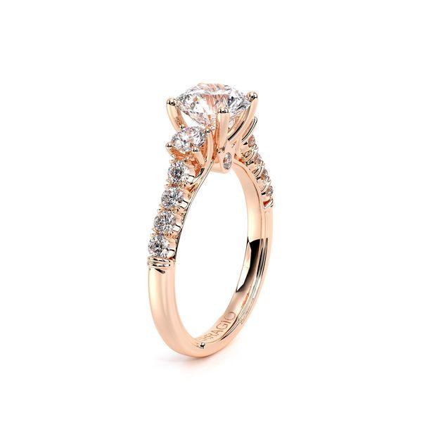 Renaissance Three Stone Engagement Ring Image 3 D. Geller & Son Jewelers Atlanta, GA